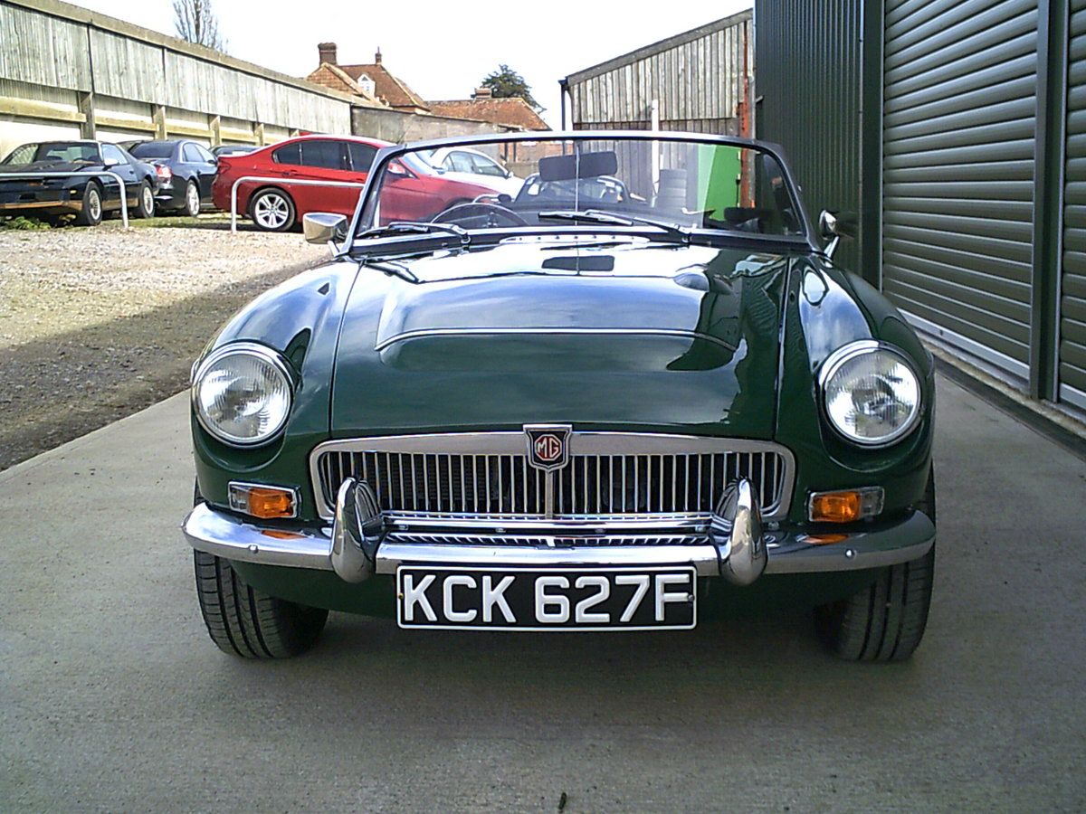 1968 MGC Roadster. Recent restoration.  SOLD (picture 2 of 6)