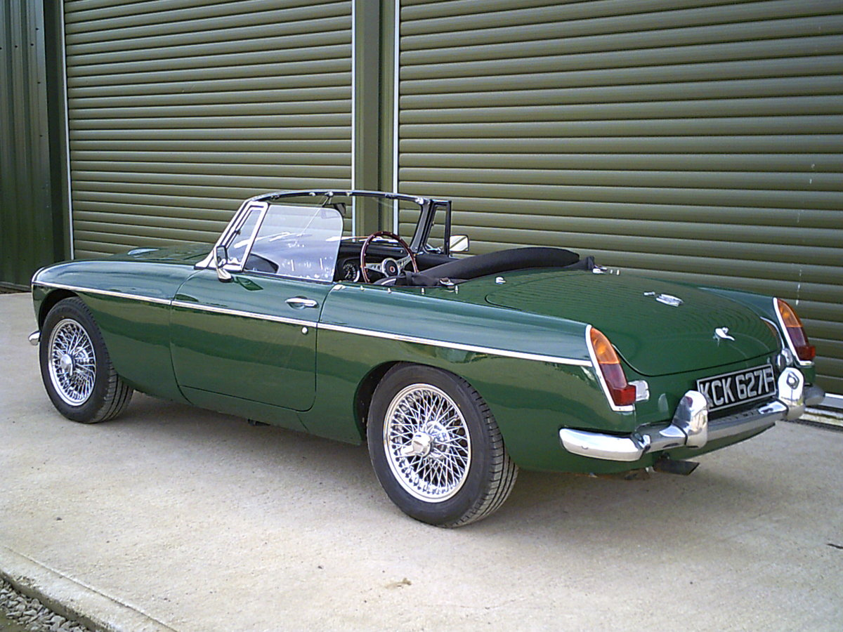 1968 MGC Roadster. Recent restoration.  SOLD (picture 3 of 6)