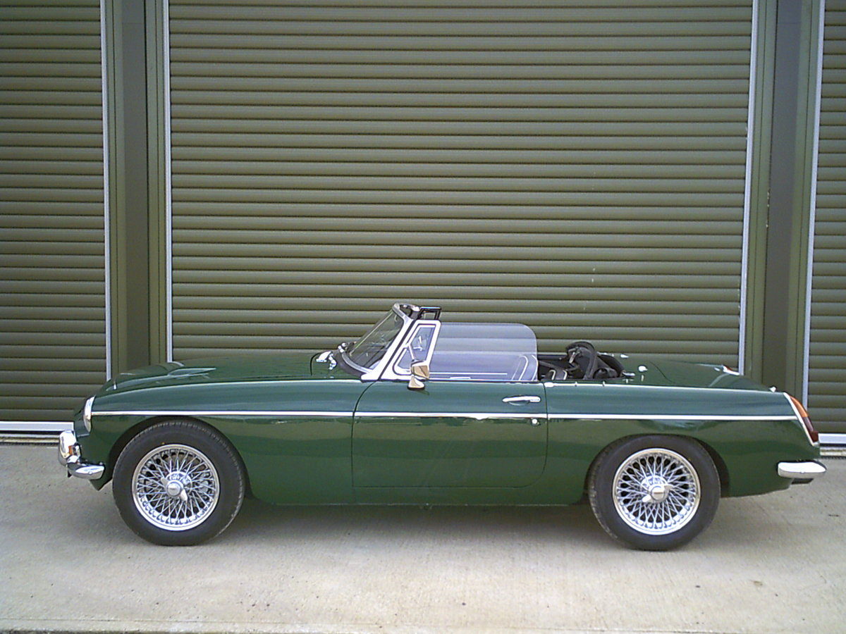 1968 MGC Roadster. Recent restoration.  SOLD (picture 5 of 6)