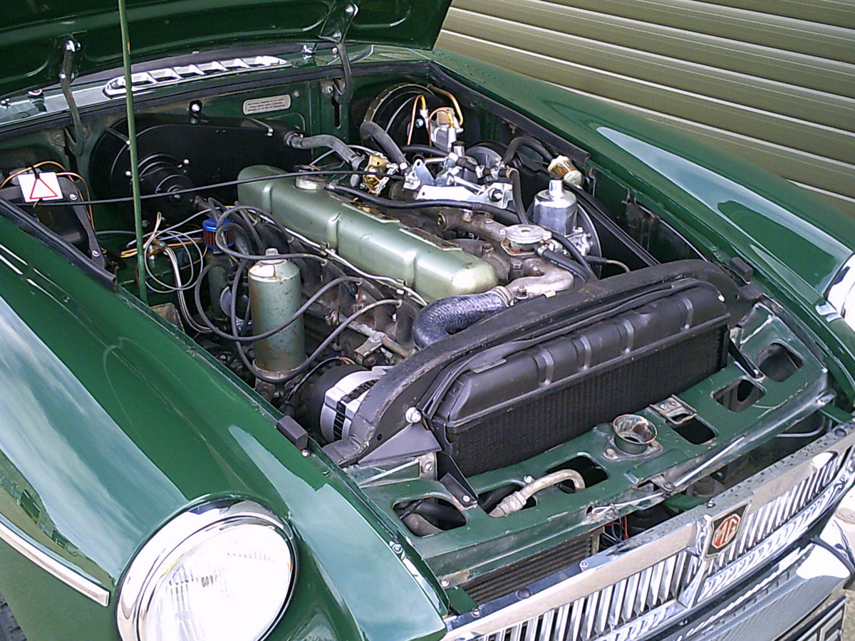 1968 MGC Roadster. Recent restoration.  SOLD (picture 6 of 6)