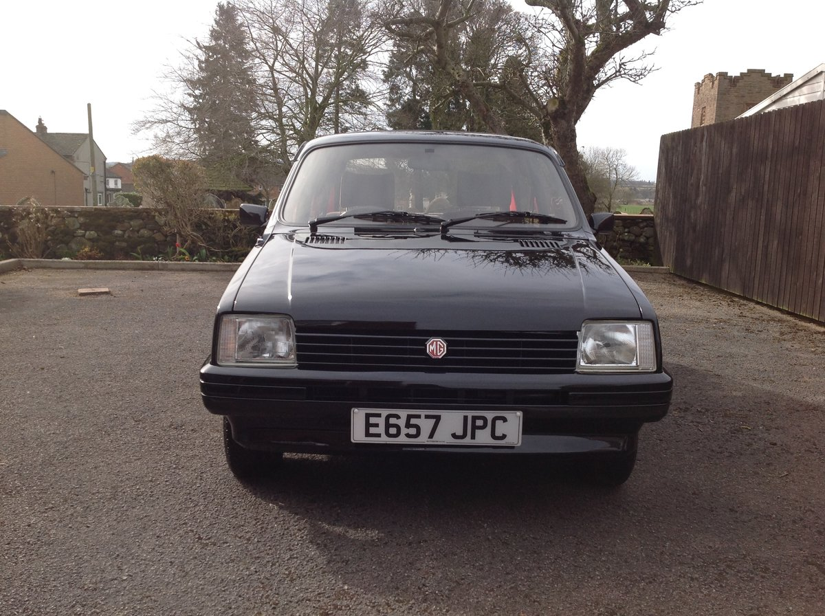 1988 MG Metro, 17000 miles, Black, Rare For Sale (picture 1 of 6)