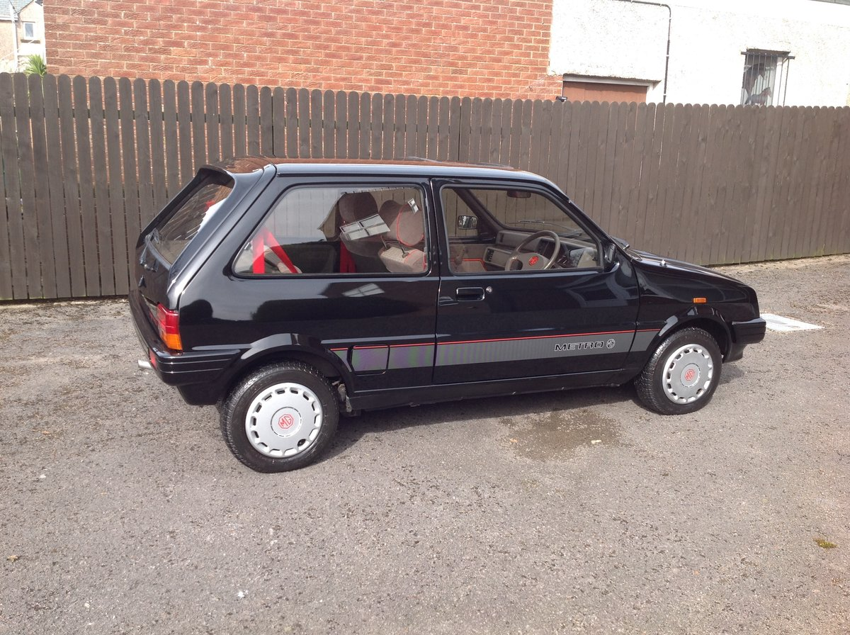 1988 MG Metro, 17000 miles, Black, Rare For Sale (picture 3 of 6)