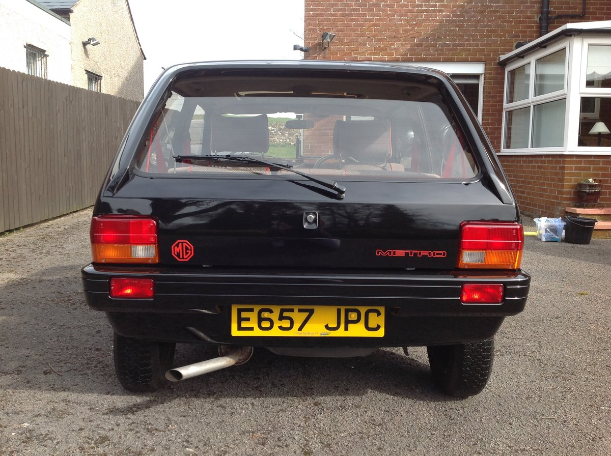 1988 MG Metro, 17000 miles, Black, Rare For Sale (picture 4 of 6)