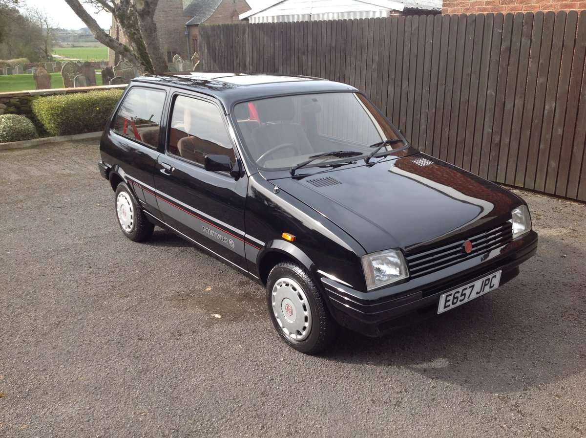 1988 MG Metro, 17000 miles, Black, Rare For Sale (picture 2 of 6)