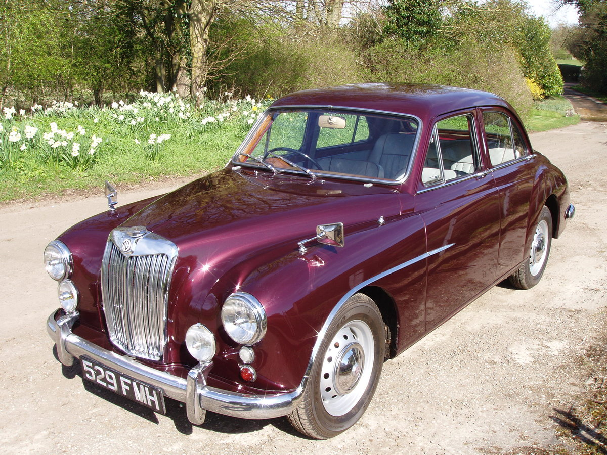 1955 MG ZA Magnette For Sale (picture 1 of 6)