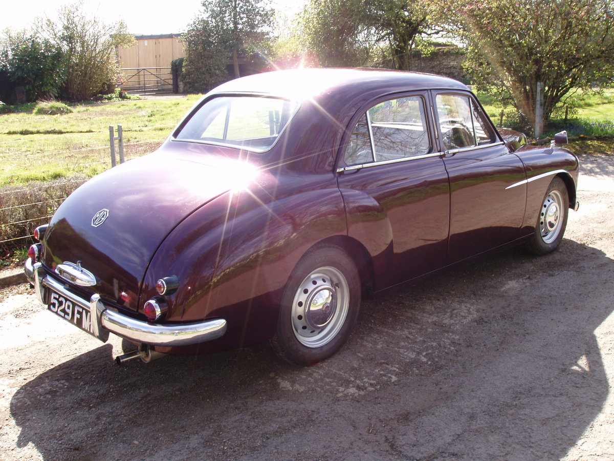1955 MG ZA Magnette For Sale (picture 2 of 6)