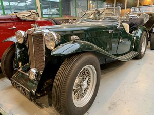 1939 MG TA with registered 1700cc engine
