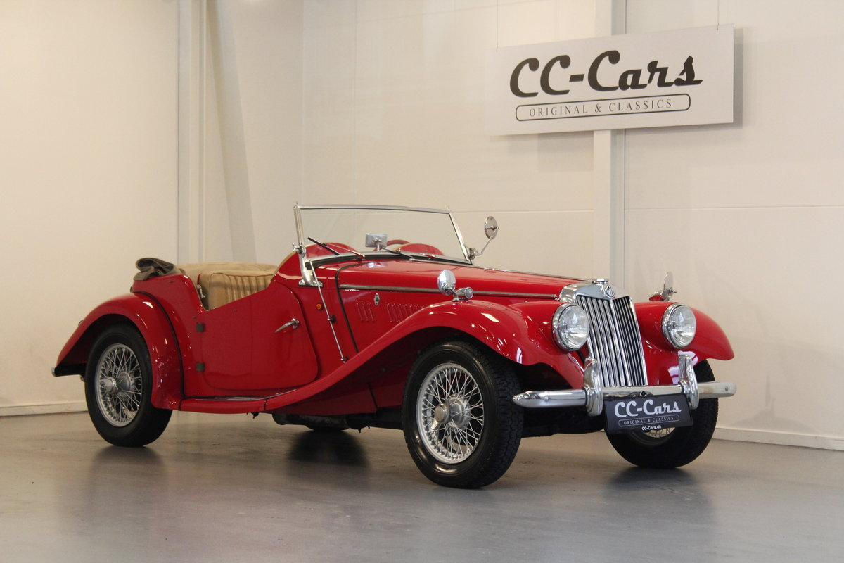 1954 MG TF 1250 Roadster For Sale (picture 1 of 6)