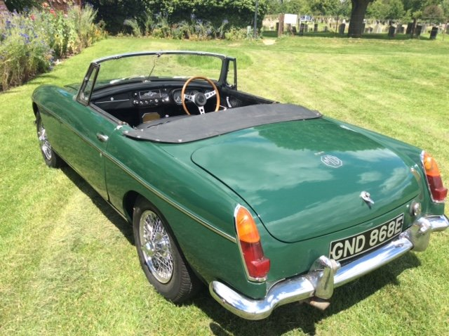 1966 Stunning Mk1 MGB Roadster Low Mileage For Sale (picture 5 of 5)