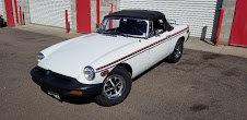 1977 MGB Roadster Convertible clean Solid Ivory driver $13.5