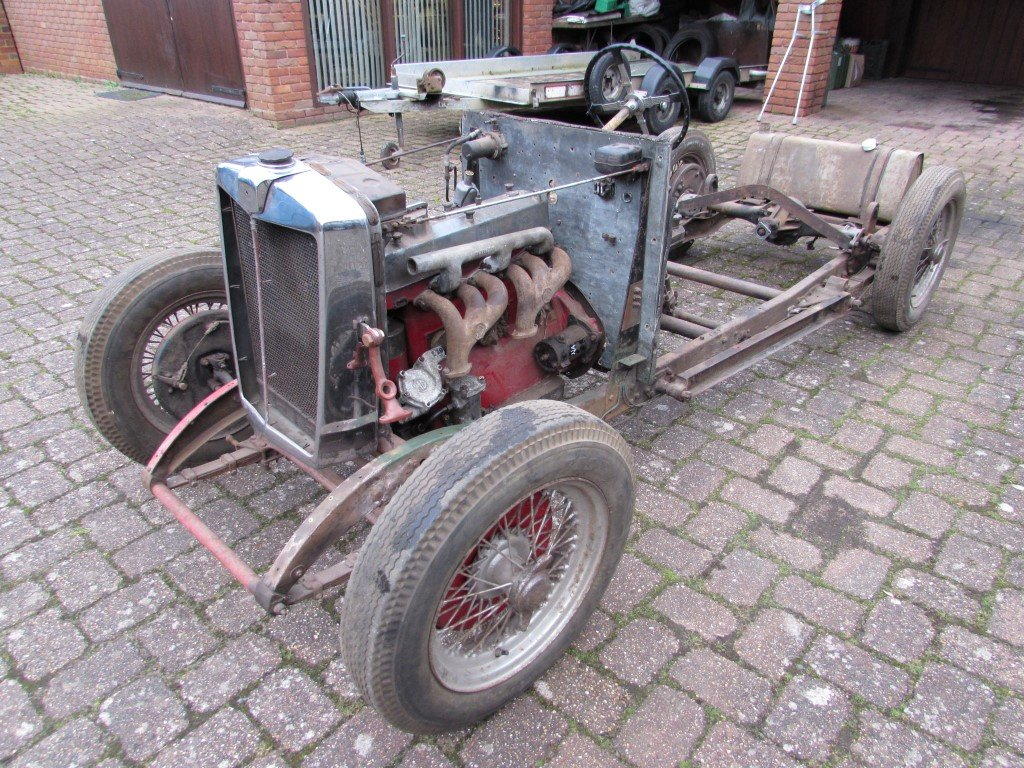 1934 MG N Magnette Rolling Chassis SOLD (picture 1 of 6)