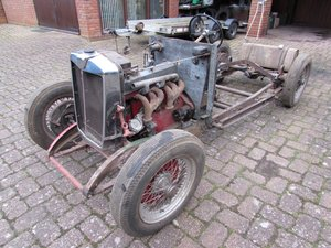 1934  MG N Magnette Rolling Chassis