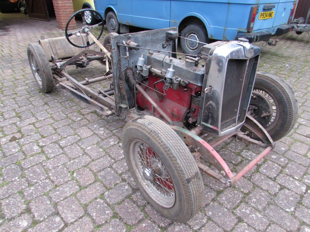 1934 MG N Magnette Rolling Chassis SOLD (picture 2 of 6)