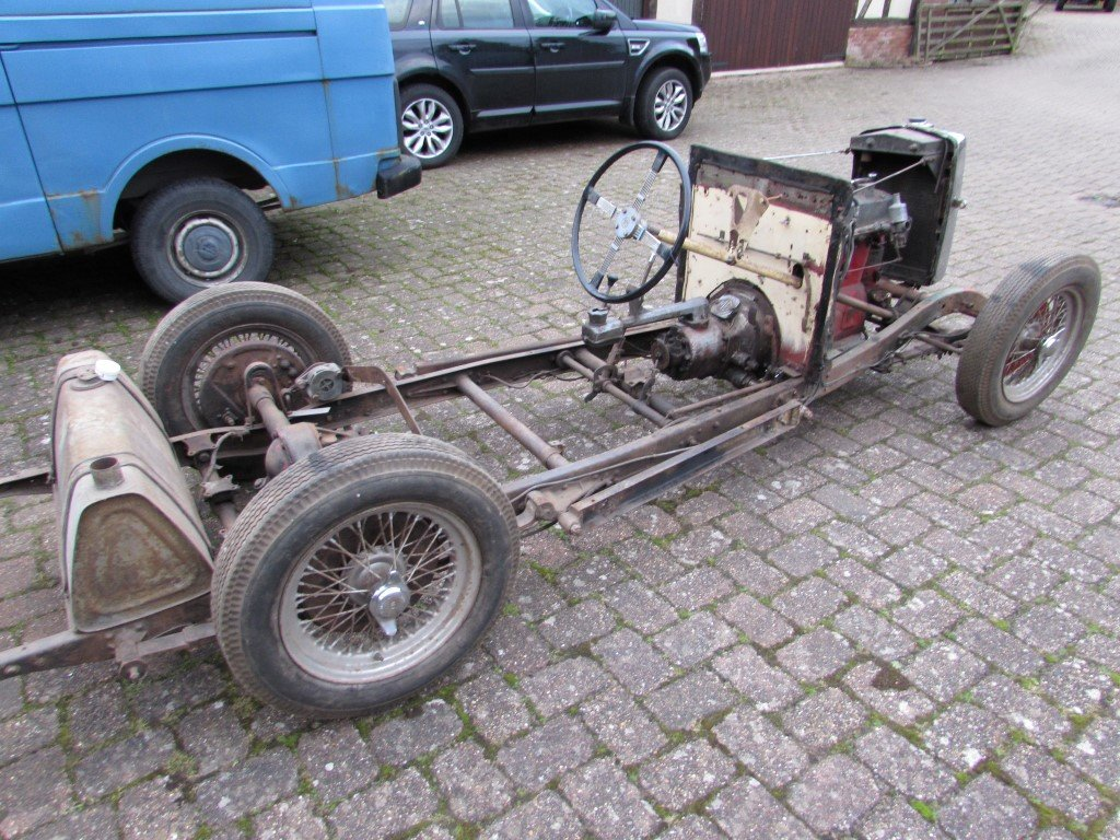 1934 MG N Magnette Rolling Chassis SOLD (picture 4 of 6)