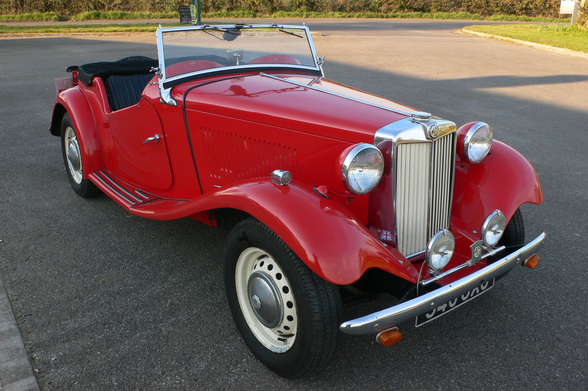 1953 MG TD Midget For Sale by Auction (picture 1 of 6)