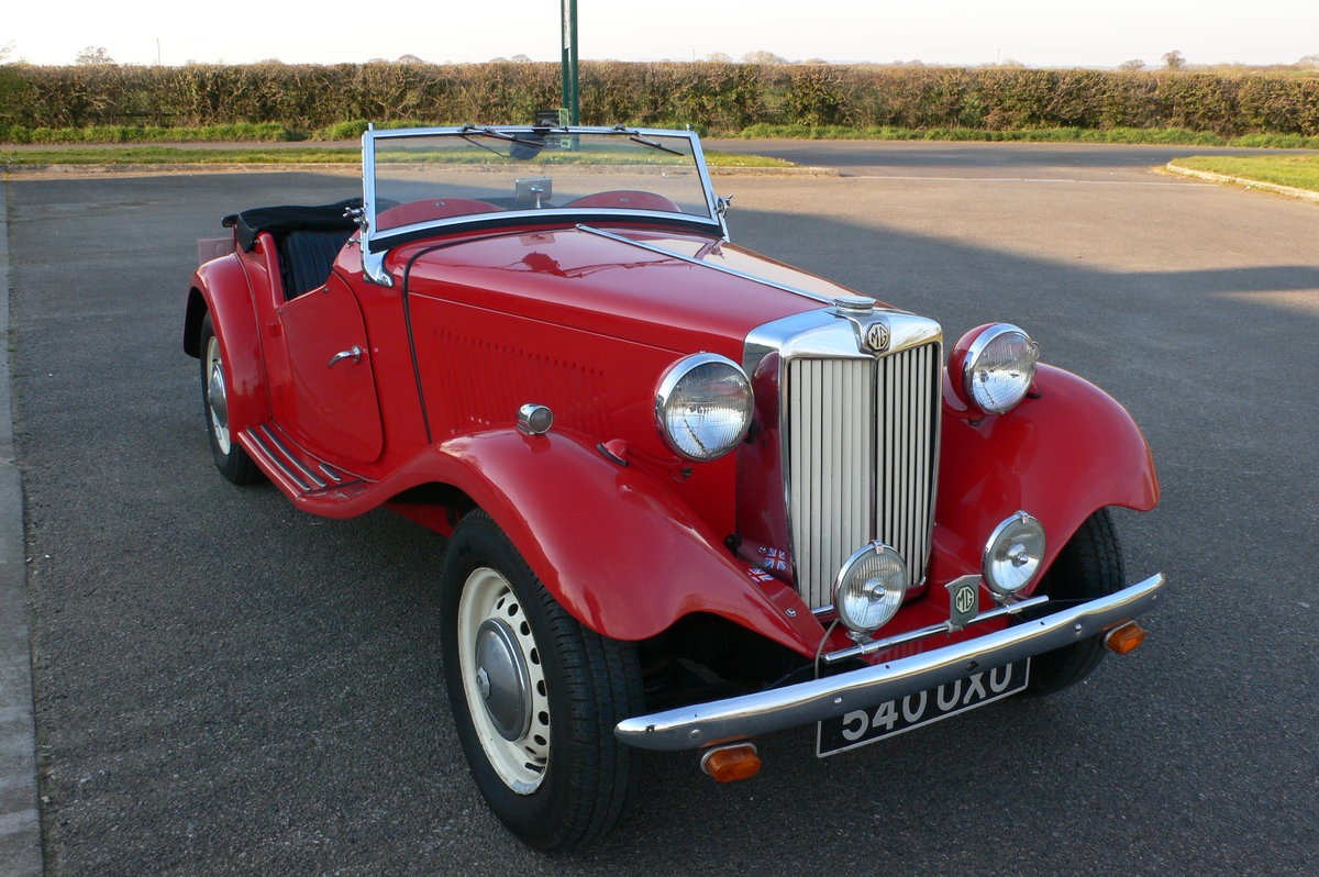 1953 MG TD Midget For Sale by Auction (picture 2 of 6)