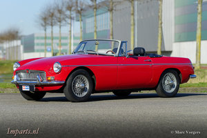 1968 Very nice MGB Roadster 1800 (LHD with Overdrive