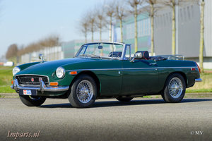 Very nice MGB Roadster (LHD) 1971