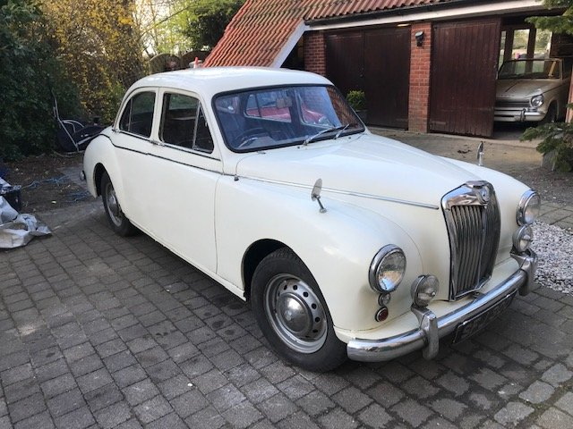 1957 Mg magnette zb varitone SOLD (picture 1 of 6)