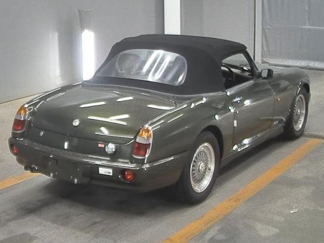 1995 MG RV8 4.0 V8 CONVERTIBLE WOODCOTE GREEN * ONLY 4491 MILES * For Sale (picture 2 of 5)
