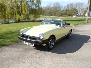 1977 (R) MG Midget 1500 cc Convertible For Sale