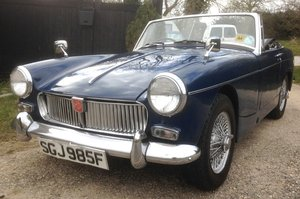 1968 MG Midget MK111 1275 cc Sports Car Excellent condition