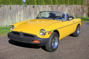 Picture of Lot 115- 1980 MG MGB For Sale by Auction