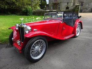 MG TC - Fully rebuilt in 2019
