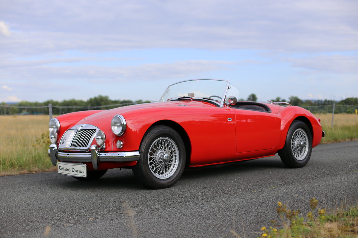 1957 MGA Roadster with a modern twist for today's hectic traffic SOLD (picture 1 of 6)
