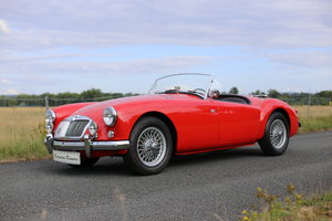 MGA Roadster with a modern twist for today's hectic traffic