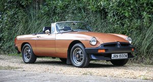 1981 MGB ROADSTER - LE