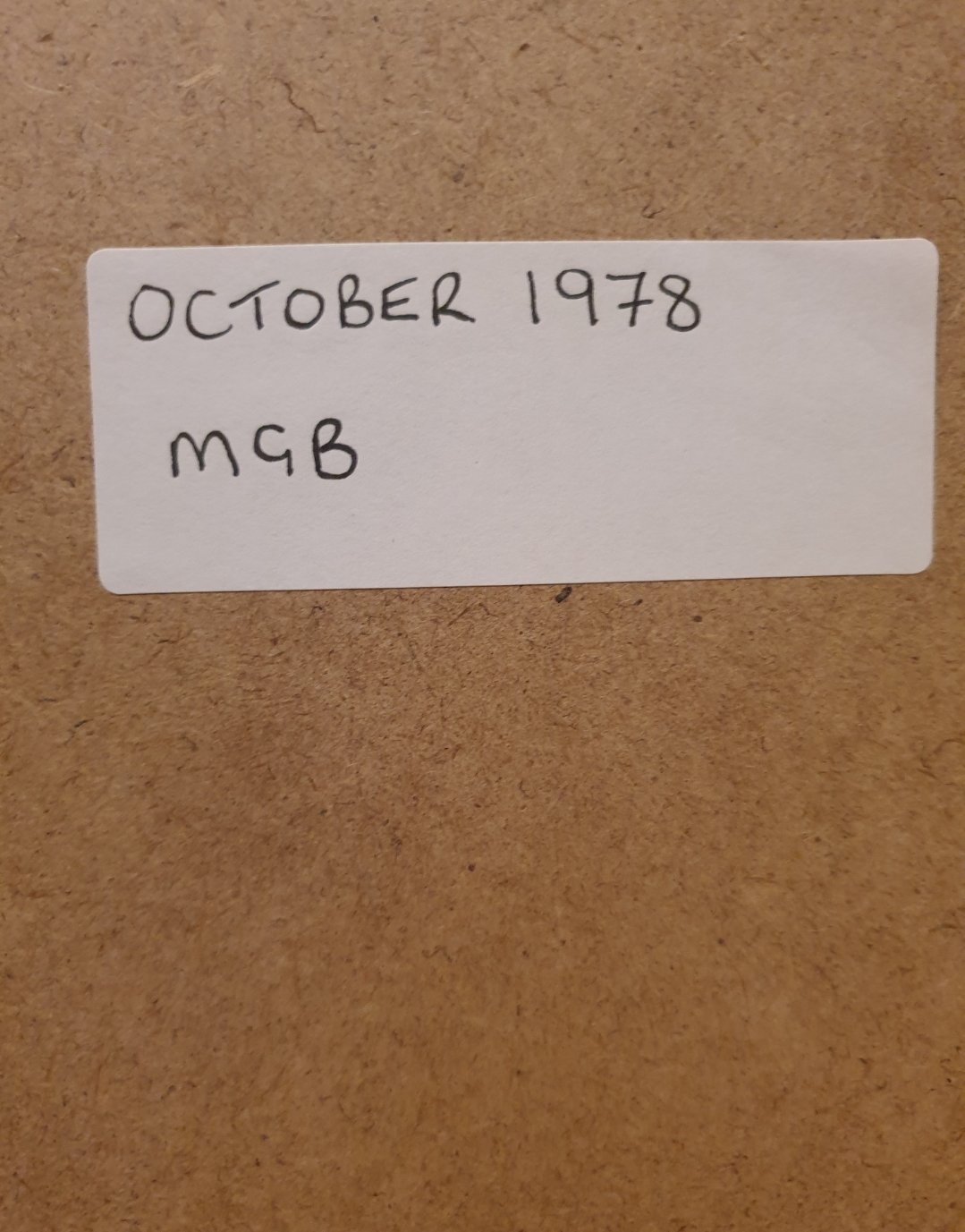 1978 MGB Framed Advert Original  For Sale (picture 2 of 2)