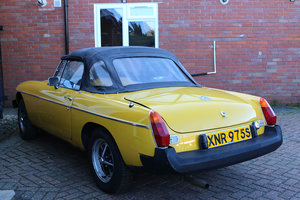 MGB Roadter 1978 Inca Yellow, 83000 Miles, Ideal Project Car