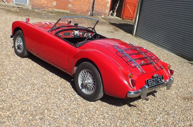 1959 A very attractive and thoroughly sound MGA roadster For Sale (picture 3 of 6)