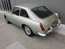 1968 MGB GT  Clean Full Restored Jade(~)Black  $20.9k For Sale (picture 2 of 6)