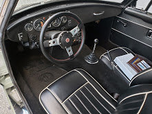 1968 MGB GT  Clean Full Restored Jade(~)Black  $20.9k For Sale (picture 3 of 6)