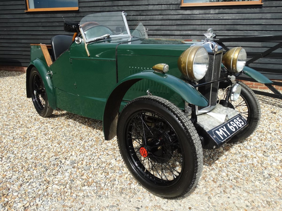 1930 MG M Type DROP HEAD VSC ELIGIBLE For Sale (picture 1 of 1)
