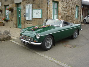1968 MGC Roadster Reluctant Sale