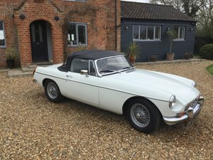 1971 MGB Roadster With Overdrive
