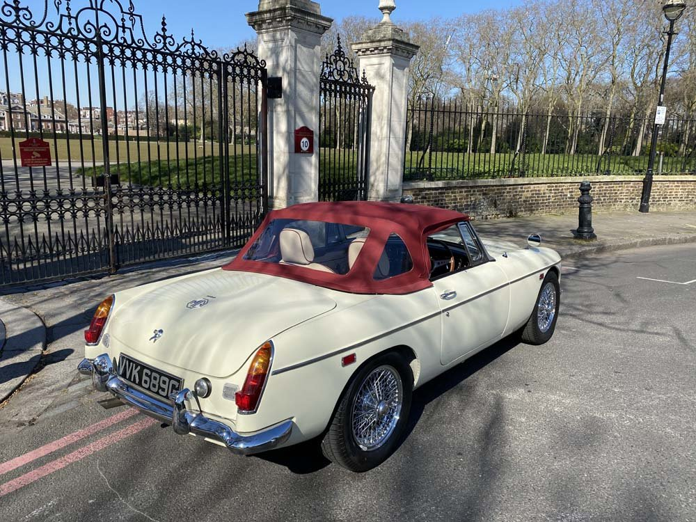 1969 MG C - Completely restored & 204 miles only since For Sale (picture 10 of 24)