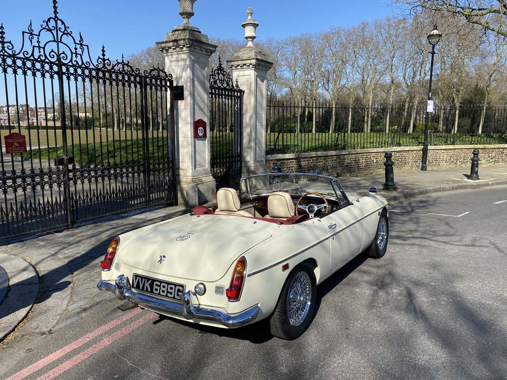 1969 MG C - Completely restored & 204 miles only since For Sale (picture 11 of 24)