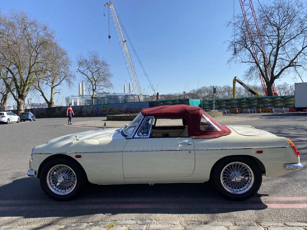 1969 MG C - Completely restored & 204 miles only since For Sale (picture 12 of 24)