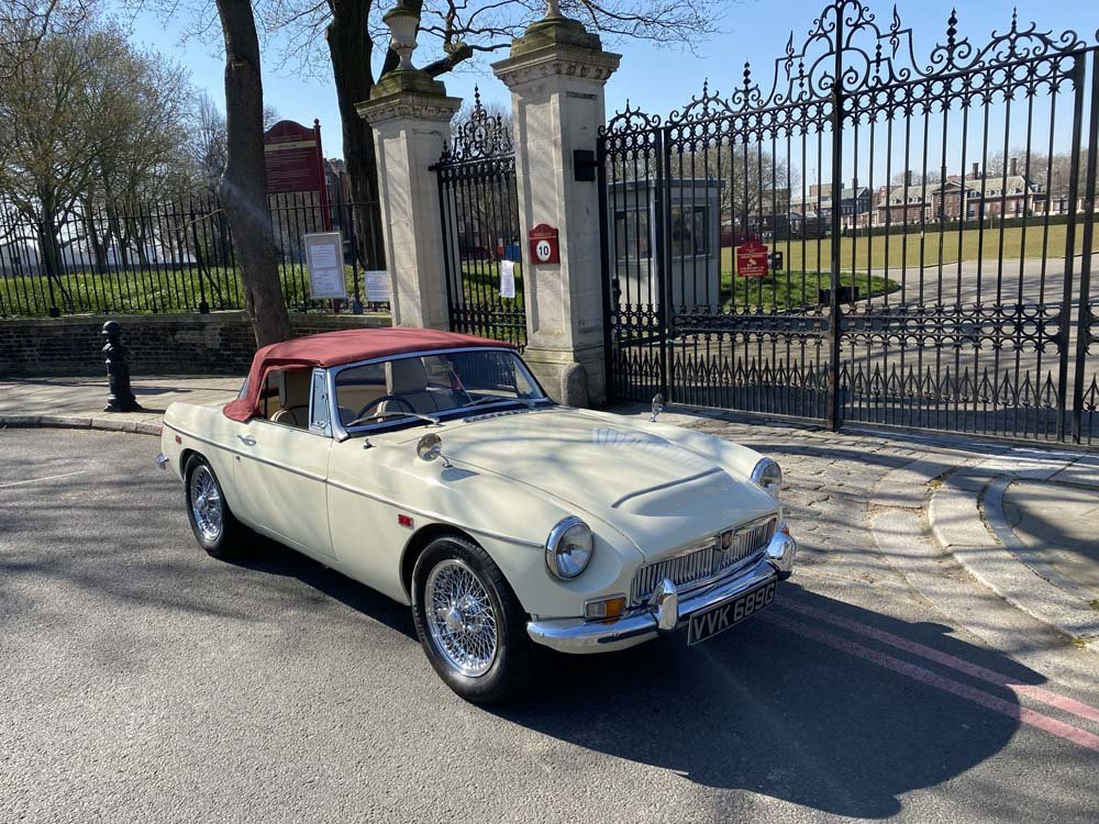 1969 MG C - Completely restored & 204 miles only since For Sale (picture 13 of 24)