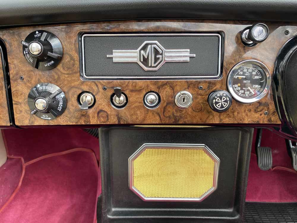 1969 MG C - Completely restored & 204 miles only since For Sale (picture 19 of 24)