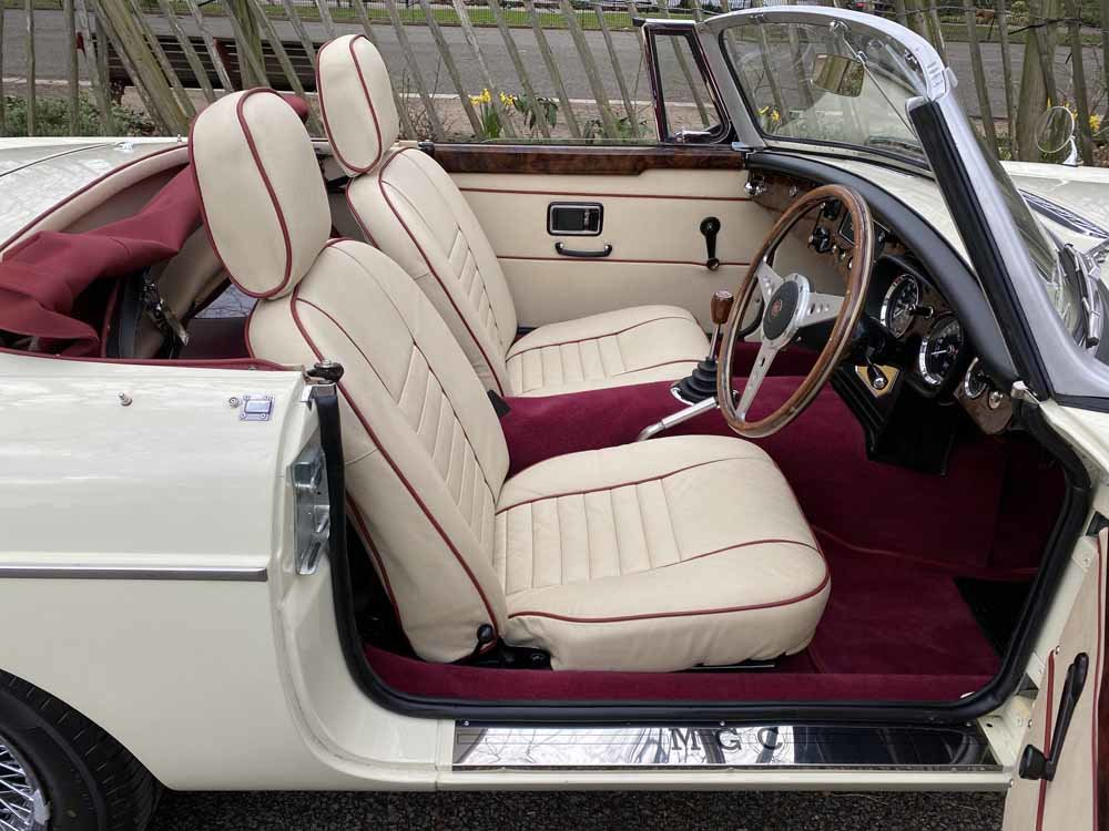 1969 MG C - Completely restored & 204 miles only since For Sale (picture 22 of 24)