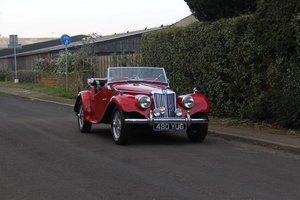 1954 MG TF, Beautifully Presented, Engine Rebuilt