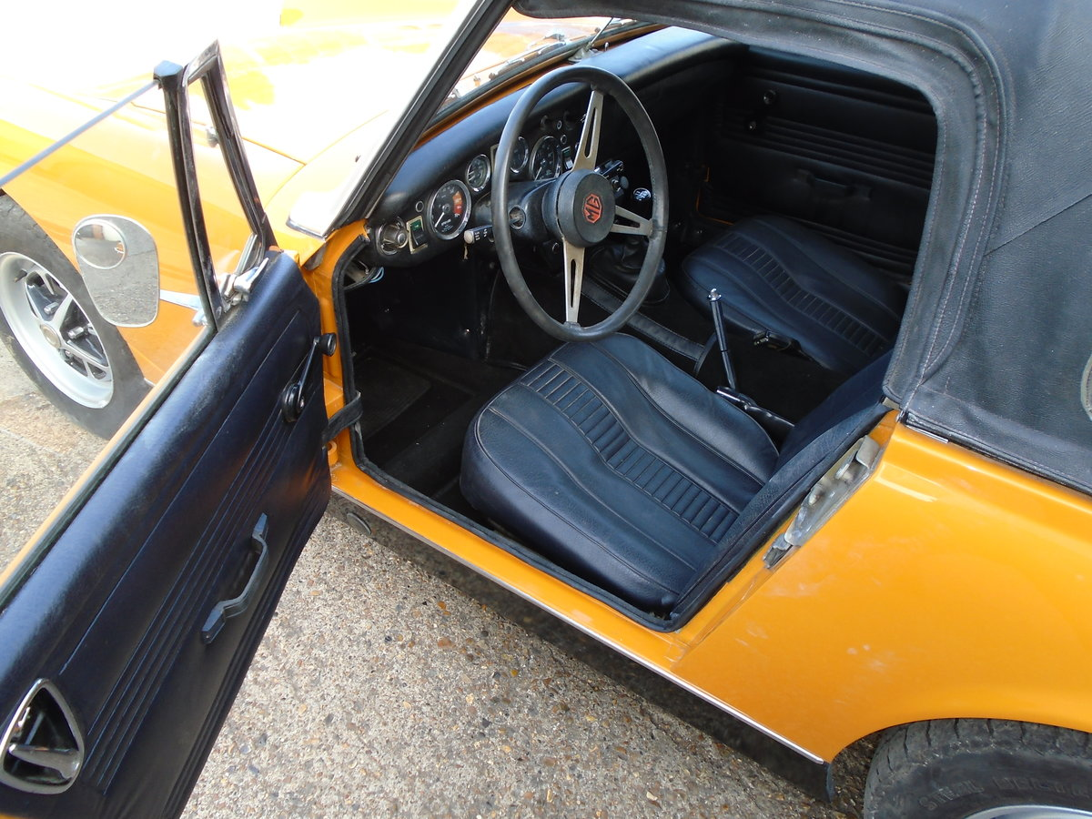 mg midget 1973.one owner SOLD (picture 5 of 6)