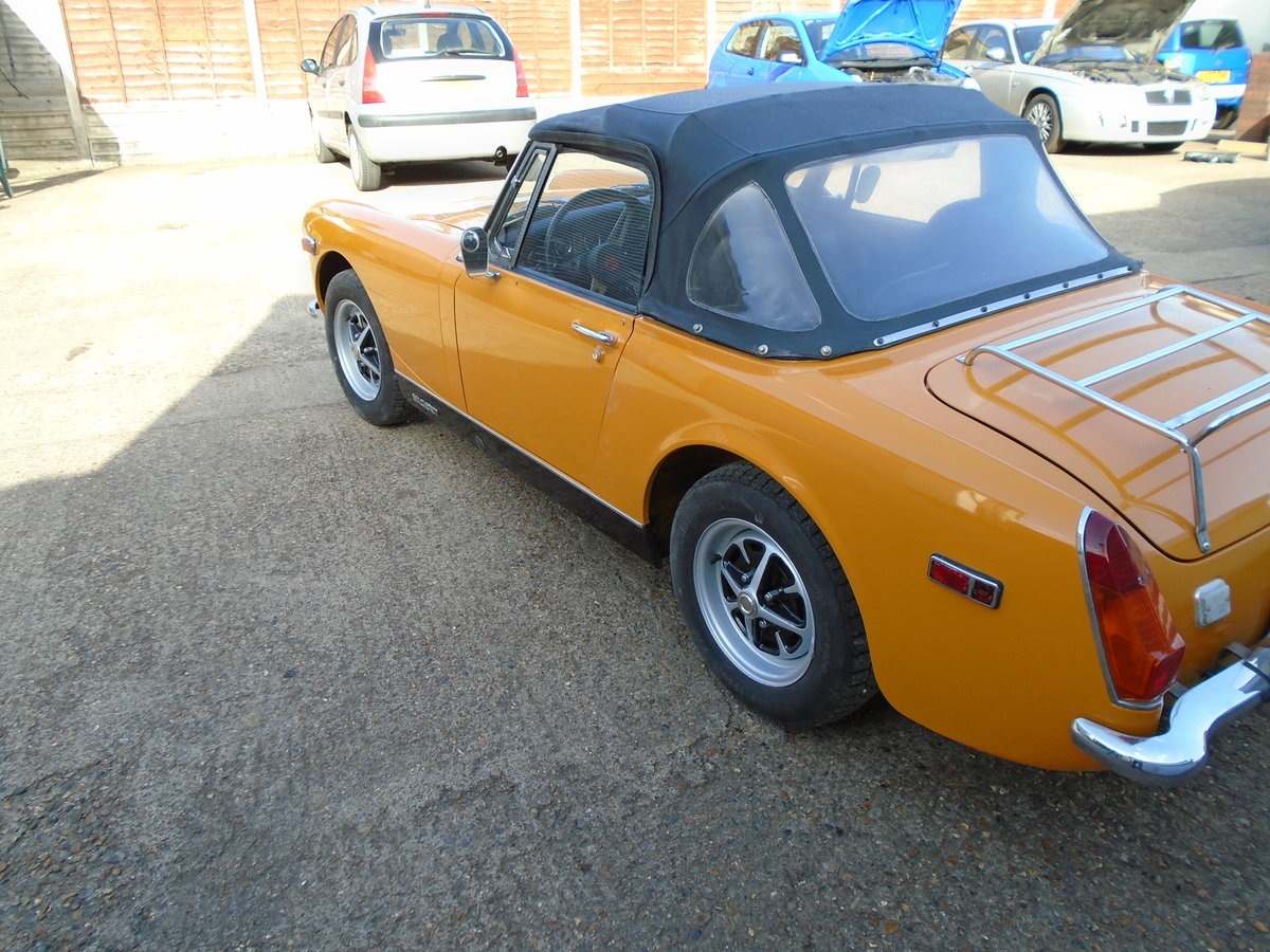 mg midget 1973.one owner SOLD (picture 6 of 6)