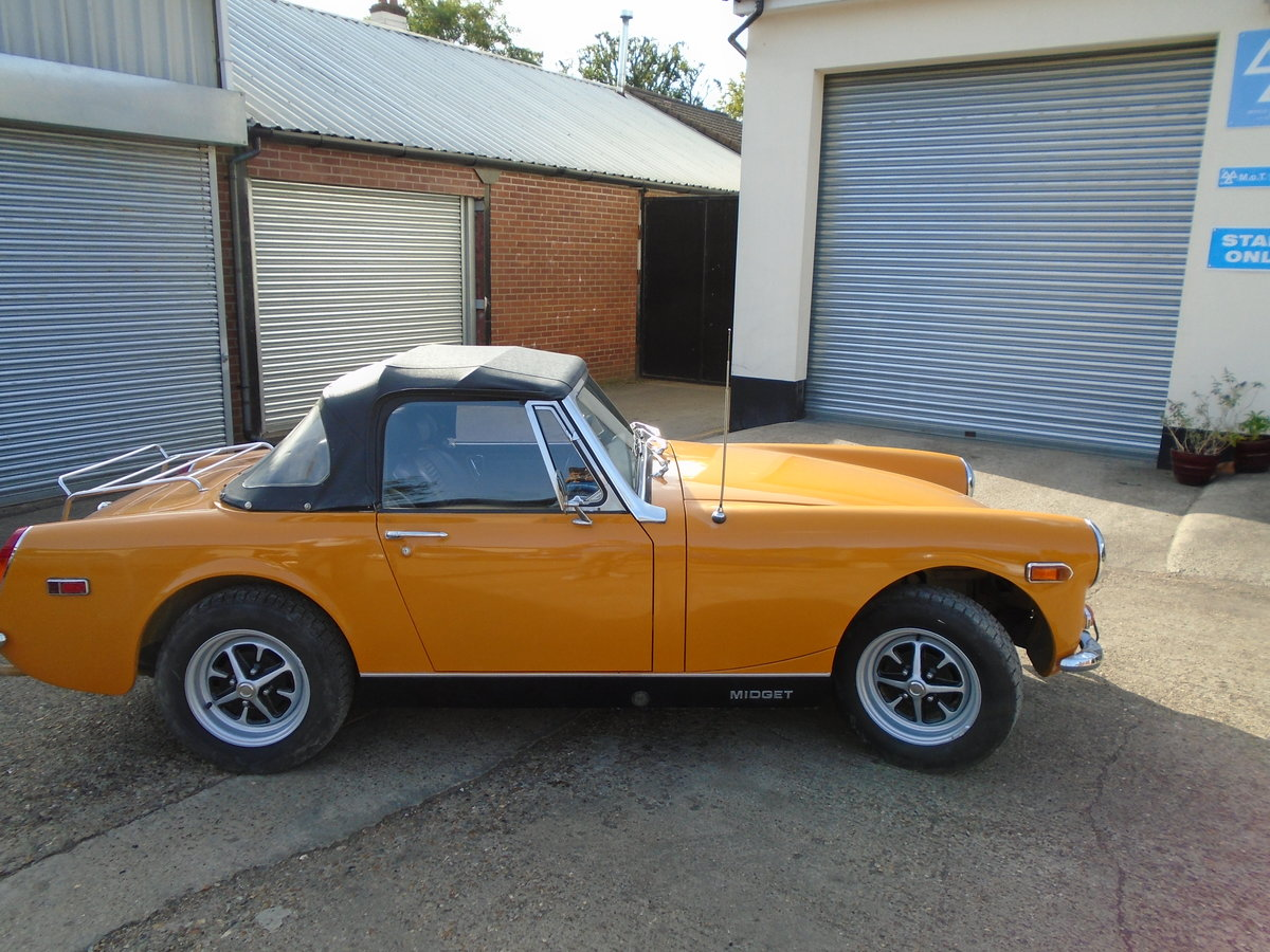 mg midget 1973.one owner SOLD (picture 4 of 6)