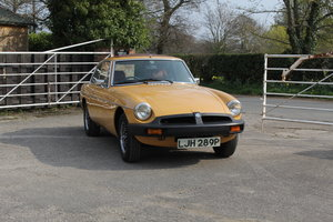1976 MGB GT V8, Timewarp condition, 72k Original Miles